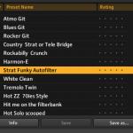 Mengembalikan Preset Guitar Rig 5 yang hilang secara manual