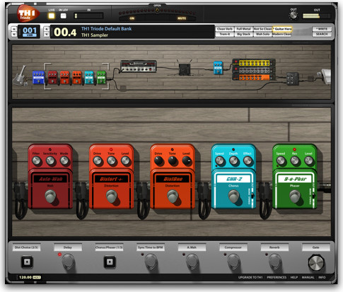 Software Efek Gitar Overloud TH1