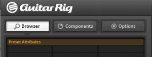 scan preset efek pada guitar rig 5
