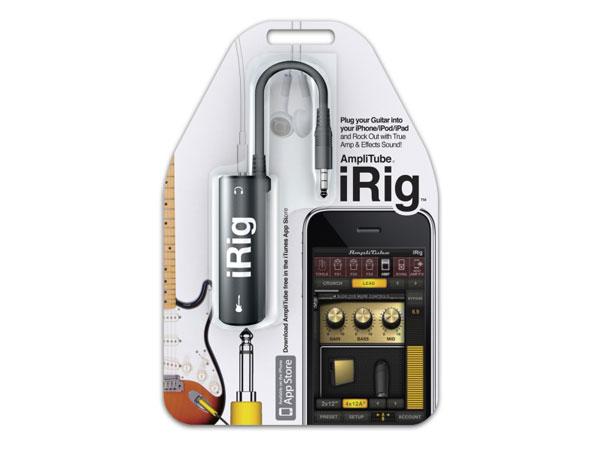 iRig mengubah iPad dan iPhone menjadi efek gitar