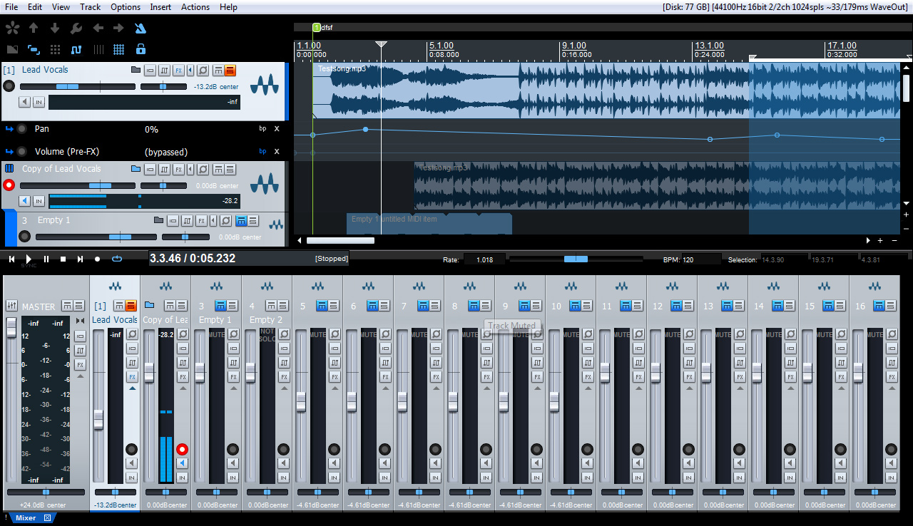 DAW Gratis Presonus Studio One Free download