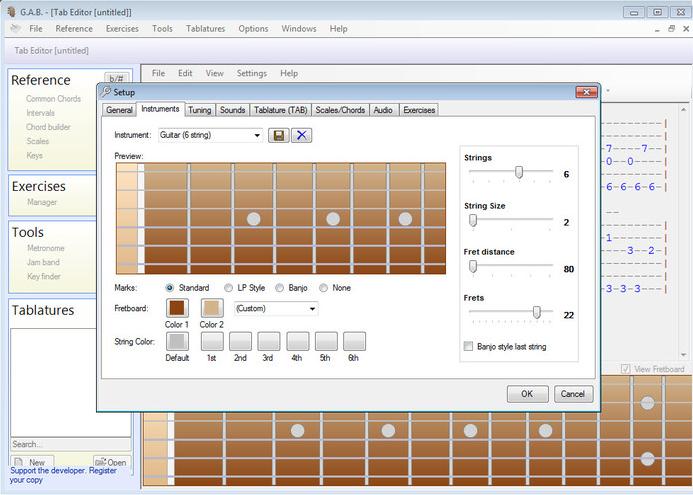 Software Belajar Gitar dan Bass