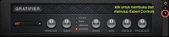 Expert Controls pada Guitar Rig 5