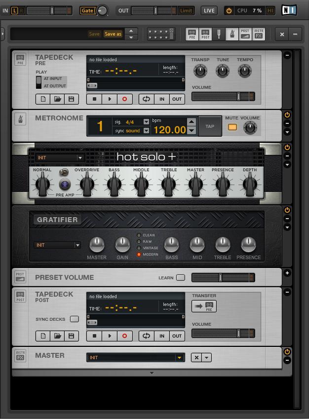 Cara merekam guitar rig 5