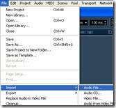 cara mengedit lagu menggunakan nuendo: mengedit data audio
