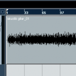 contoh sinyal audio pada nuendo