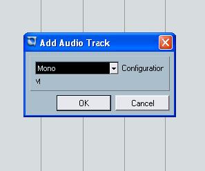 memilih track mono