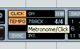 metronome nuendo
