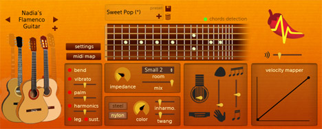 software gitar akustik Spicy Guitar
