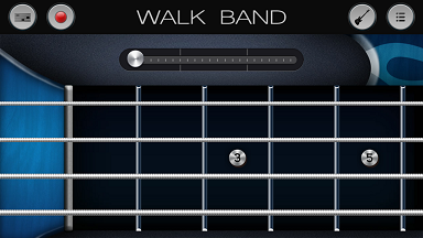aplikasi android untuk membuat musik digital WALK BAND bass