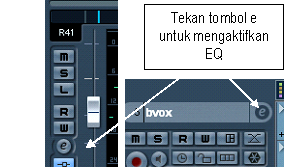 Ekualisasi / equalizing audio