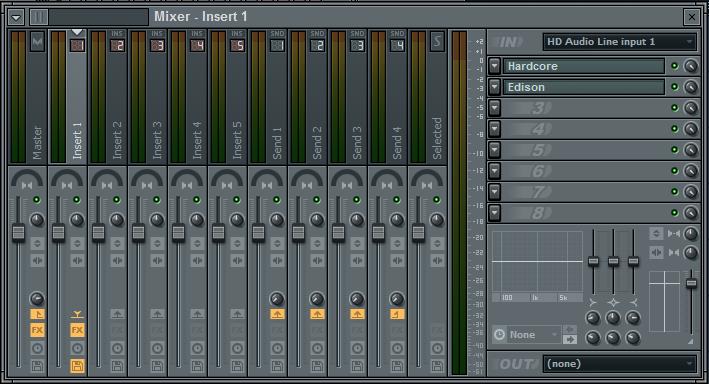 cara merekam gitar dengan fl studio mixer