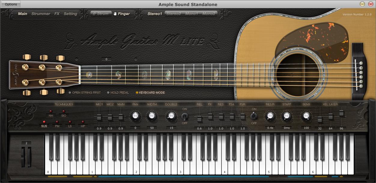 download vst plugin guitar akustik Ample Guitar M Lite
