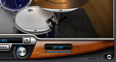 ezdrummer loaded file