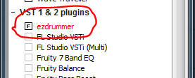 ezdrummer selected