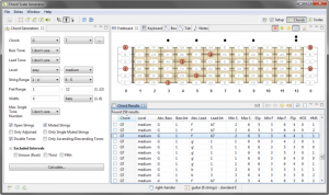 software belajar gitar chord scale generator