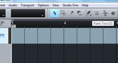 cara edit midi di studio one