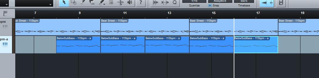 cara menambah birama lagu