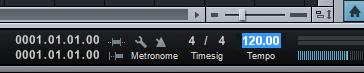 cara mengatur tempo lagu 120 edit