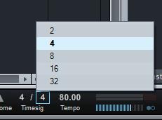 cara mengubah jumlah not lagu