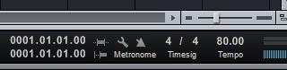 time signal tempo lagu