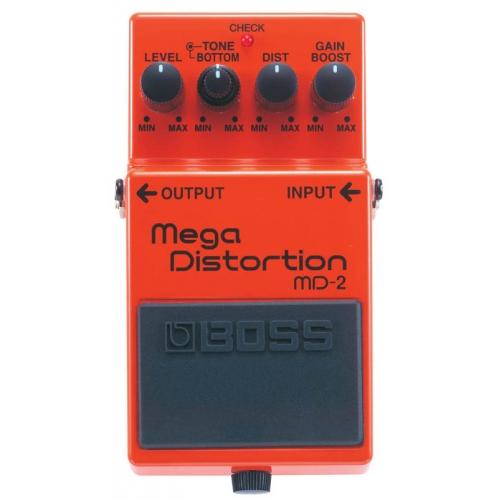 Efek gitar stompbox yang bagus dan murah BOSS MD-2 Mega Distortion