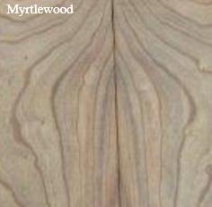 Mytle wood untuk kayu gitar elektrik