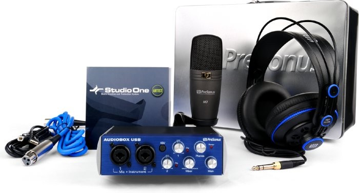 Paket home recording murah presonus_audiobox_studio