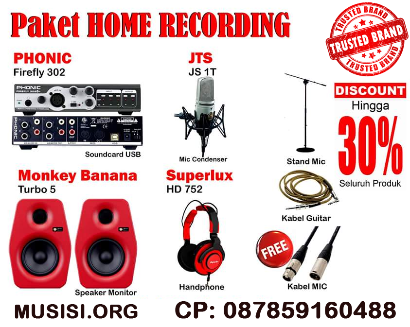 paket home recording copy