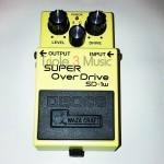 Efek gitar stompbox yang bagus dan murah BOSS SD1w Super Overdrive Waza Craft Guitar Effects Pedal