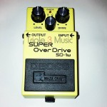 Efek gitar stompbox yang bagus dan murah BOSS SD1w Super Overdrive Waza Craft Guitar Effects Pedal