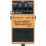 Harga efek gitar stombox boss AC-3 Acoustic Simulator
