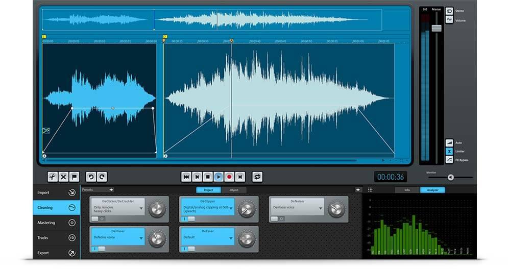 Software untuk menghilangkan noise pada rekaman vocal dan kaset agar vocal bersih tidak noise kemresek