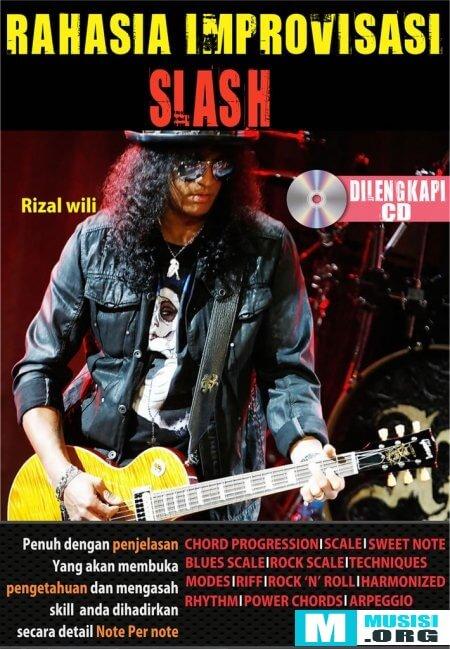 Buku Belajar Imrovisasi Melodi Gitar Slash