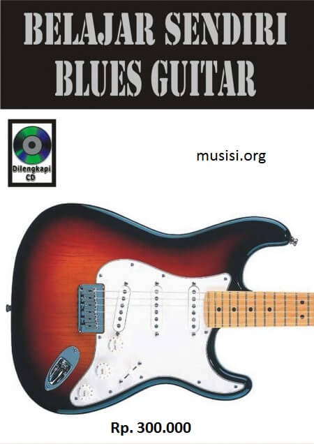 Buku belajar gitar dilengkapi dengan cd