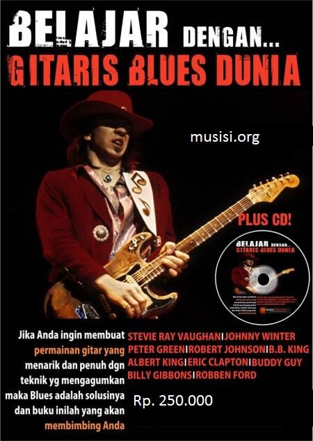 Belajar gitar blues dengan gitaris blues dunia