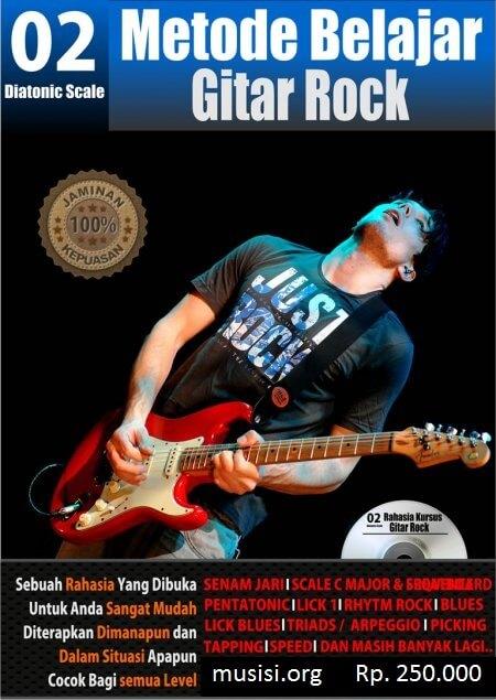 Buku panduan belajar Gitar Rock