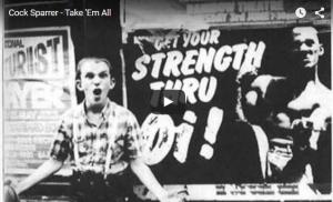 Lagu Iwak Peyek Ternyata hasil nyontek lagu band punk inggris Cock Sparrer - Take em all