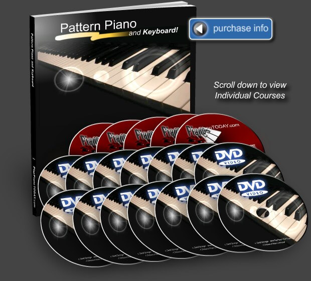 download video tutorial belajar keyboard Pattern Piano and Keyboard Complete Bundle