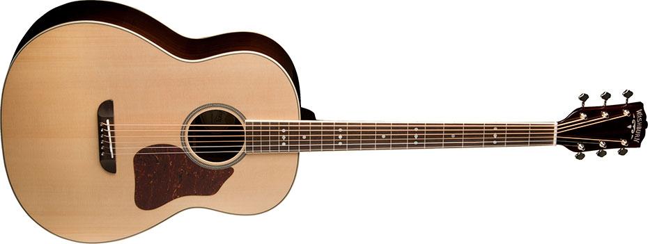 gitar akustik yang enak dimainkan washburn