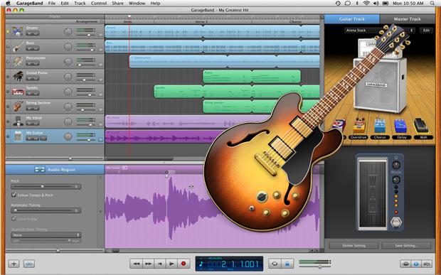 Cara menggunakan garageband Aplikasi pembuat musik di iMac