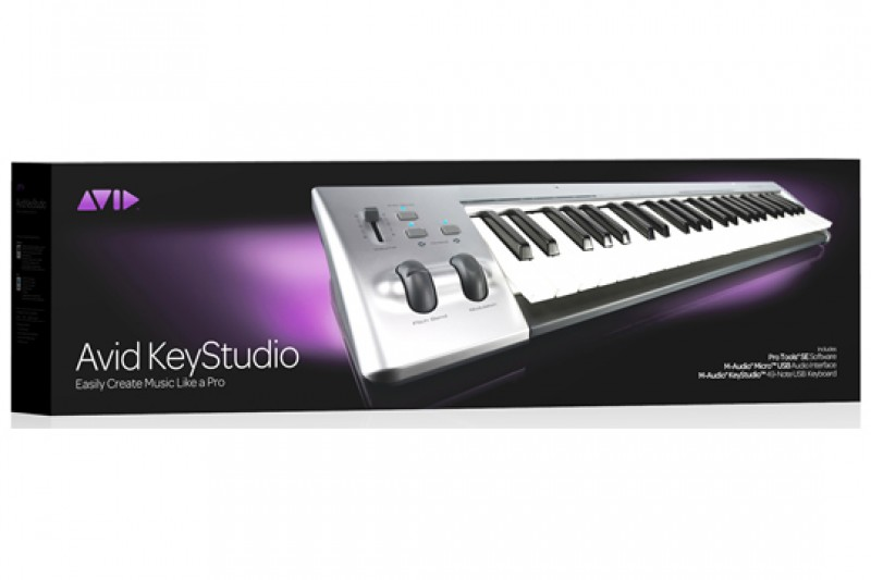 Midi Keyboard Controller Murah Untuk Home Recording Avid Keystation Studio 49 Keys