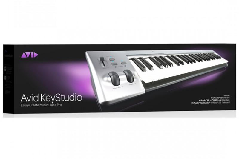 Midi Keyboard Controller Murah Untuk Home Recording Avid Keystation Studio 49 Keys