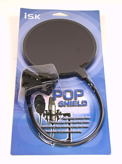 Pop Filter ISK untuk Home Recording