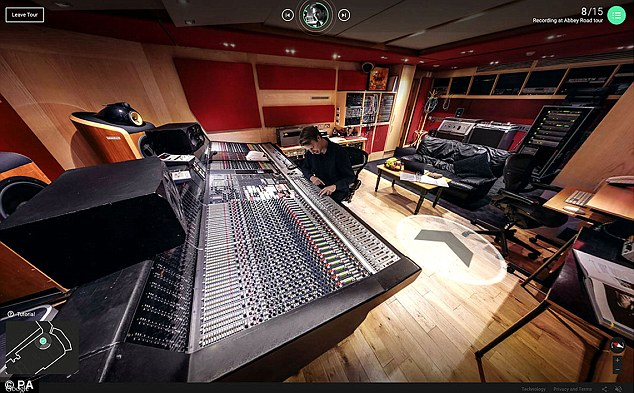 Abbey road studio tempat rekaman band the beatles