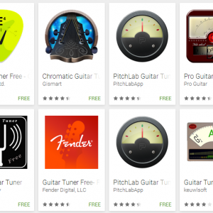 aplikasi stem gitar android