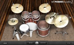 Download Vst drum gratis MT POWER DRUM KIT 2