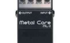 Efek gitar stompbox yang bagus dan murah Boss ML-2 Metal Core