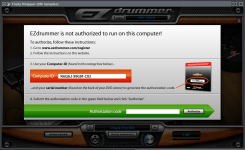 Ezdrummer authorization
