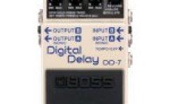 Harga efek gitar stombox boss DD-7 Digital Delay